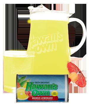 hawaiians own mango lemonade