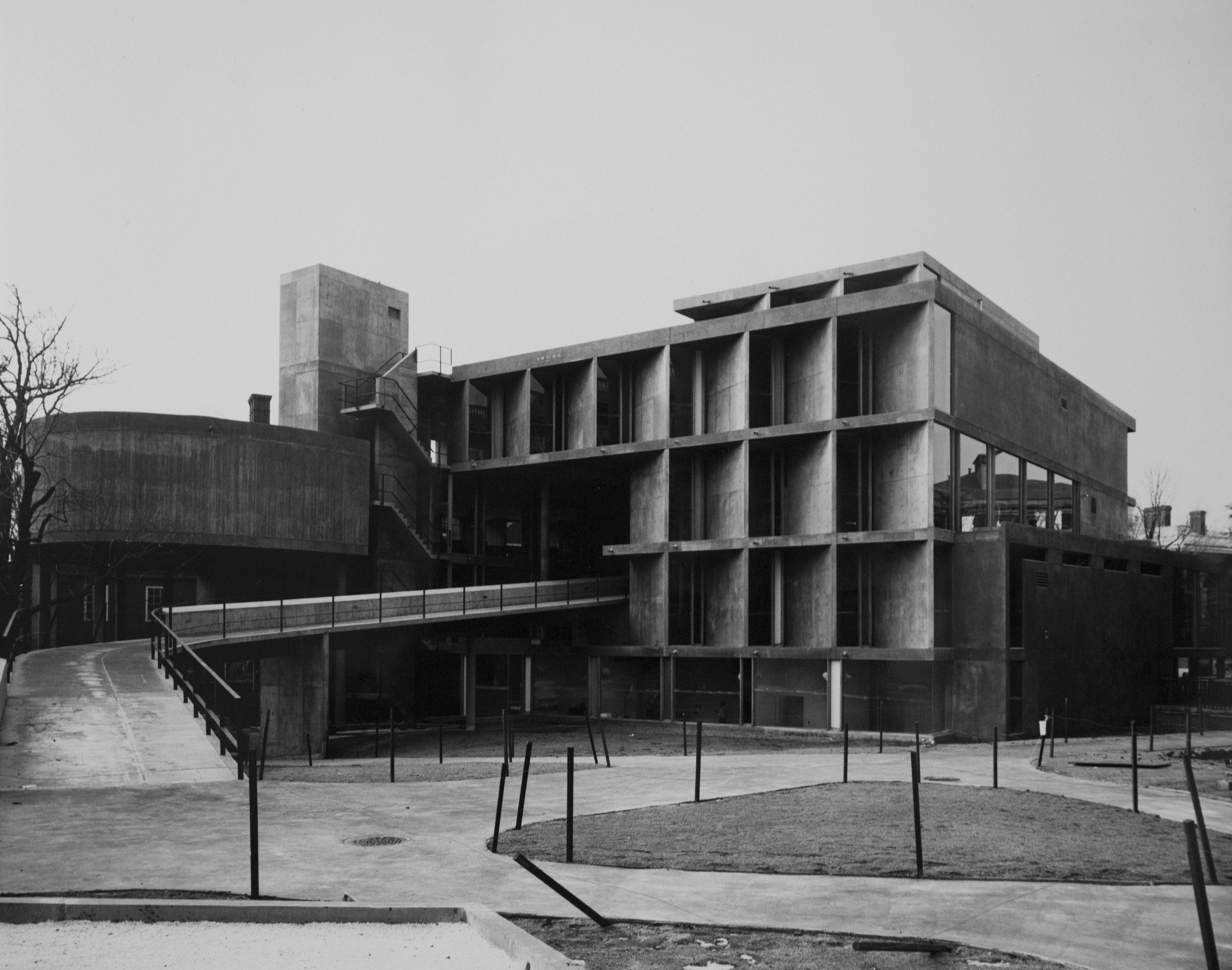Carpenter center le corbusier arquitectura y urbanismo for Arquitectura harvard