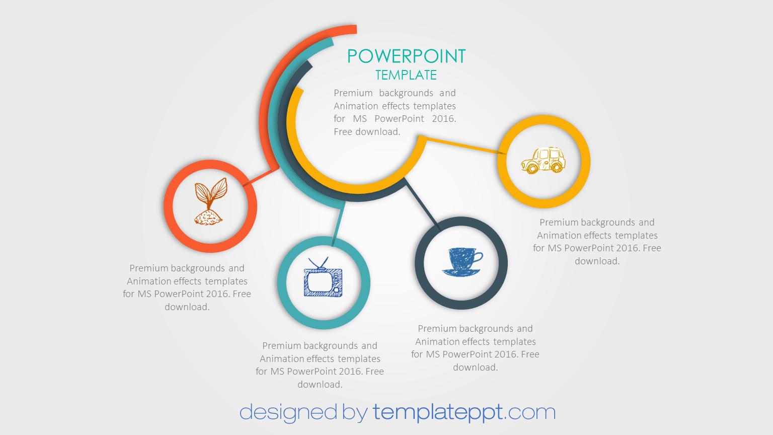 Resultado De Imagen Para Powerpoint Templates Cv Kreatif Belajar Presentasi