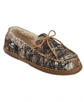 1134894c48daf Double Barrel Men's Mossy Oak Camo Moccasins | Cowboy Boots ...