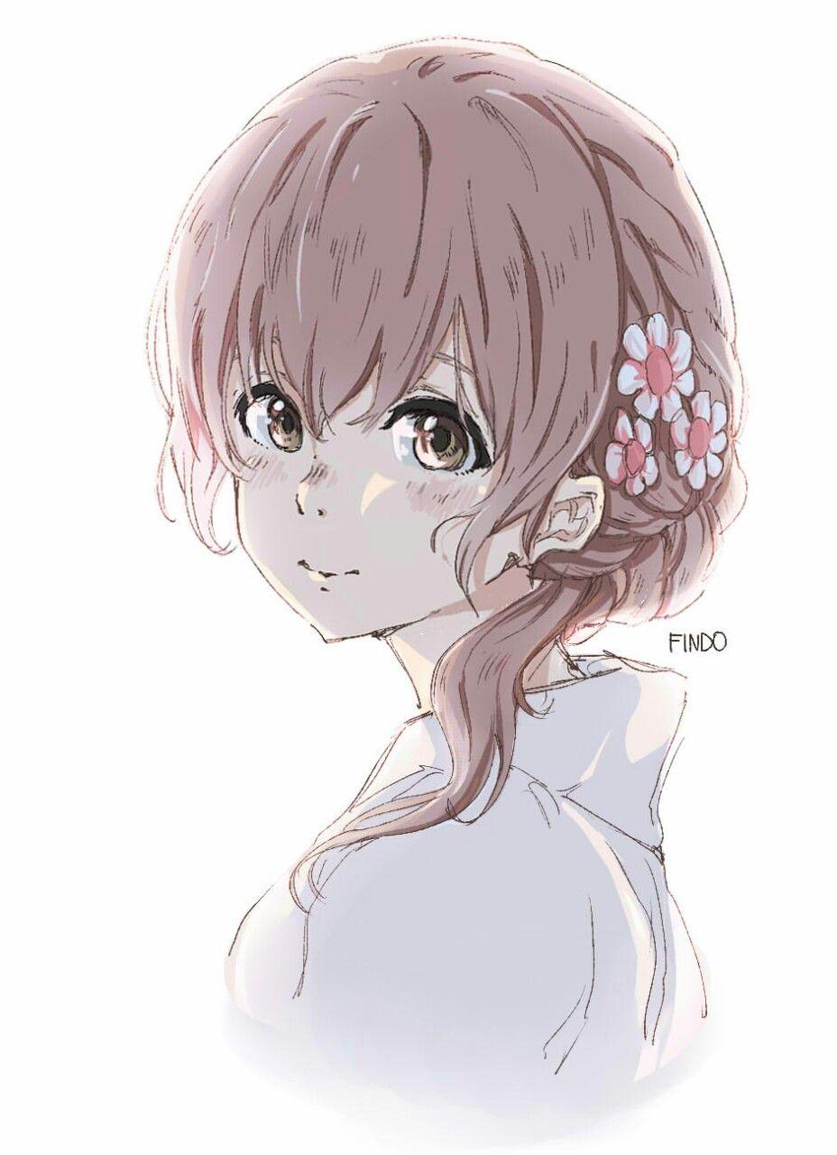 Nishimiya Shouko Anime Films Anime Anime Wallpaper