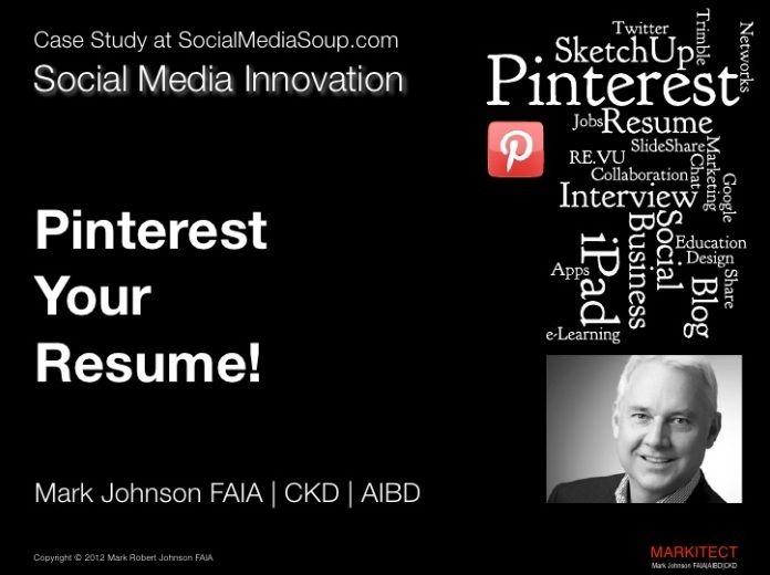 PRESENTATIE Pinterest jouw CV! tips hoe en waar!