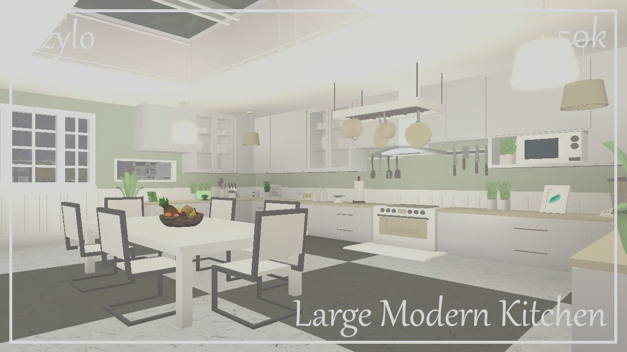 Roblox House Design Kitchen Modern Large Kitchens Modern Kitchen Design