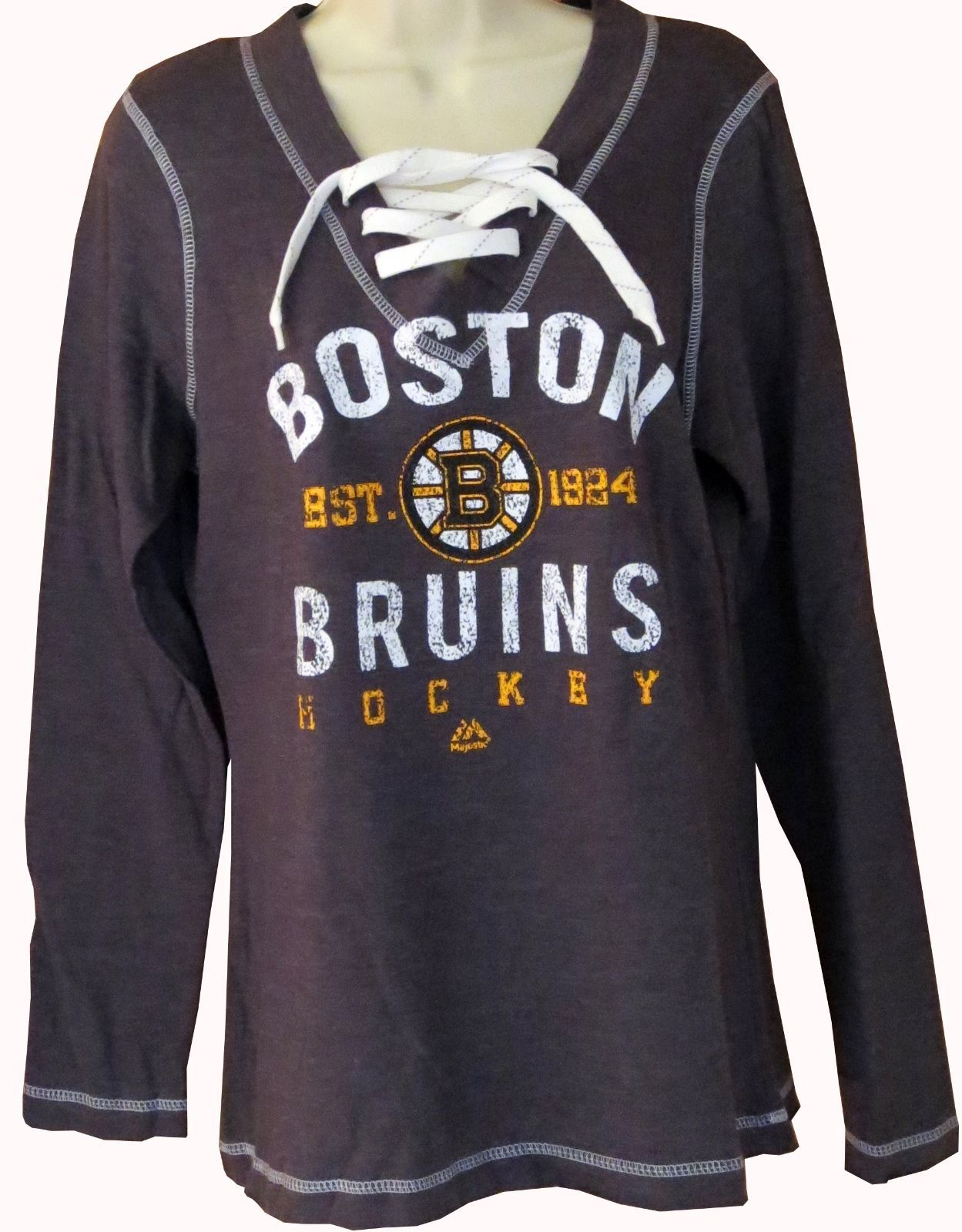 28666cc1c82 Womens Bruins Shirts - Joe Maloy