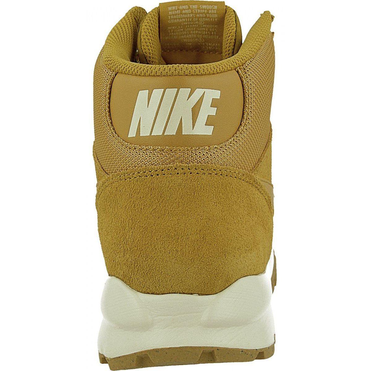 Buty Zimowe Nike Hoodland Suede M 654888 727 Brazowe Wielokolorowe Winter Boots Mens Nike Shoes Nike