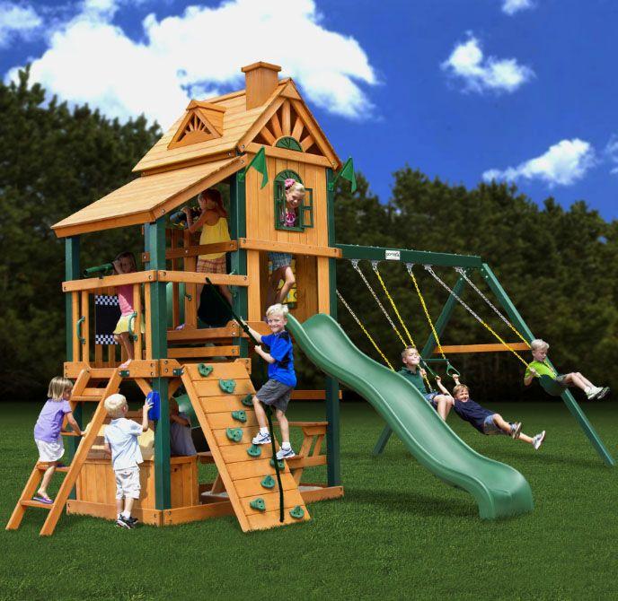 Willygoat Inc Image Display Деревянный домик для игр