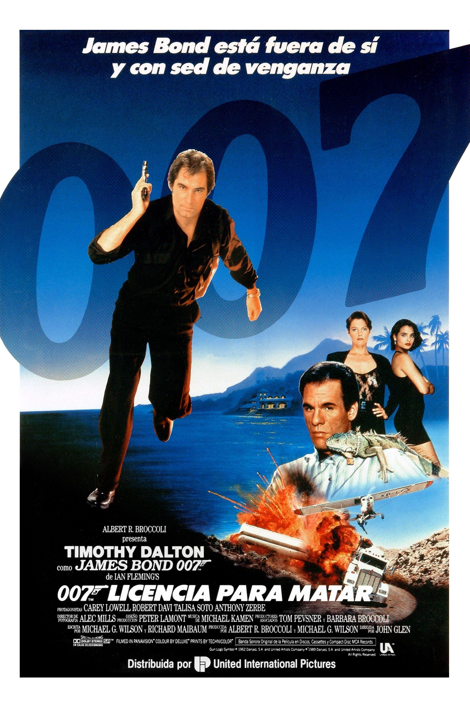 Licencia Para Matar James Bond Movie Posters James Bond Movies James Bond