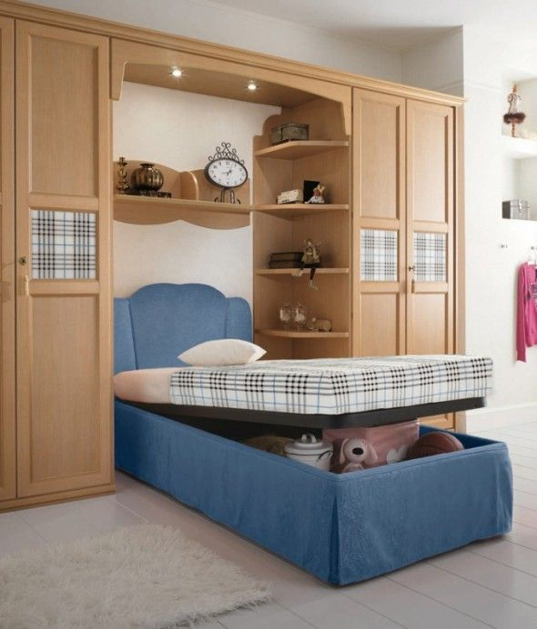 headboard+storage+ideas | ... Awesome and Delightful Teen Bedroom Design with Lift Top Storage Bed & headboard+storage+ideas | ... Awesome and Delightful Teen Bedroom ...