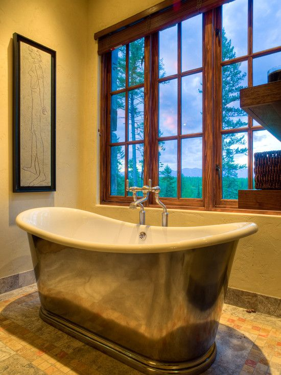Traditional Bathroom Rustic Elegance Design, Pictures, Remodel, Decor and Ideas - page 2