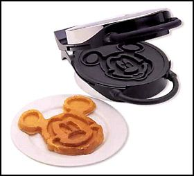 I would settle for this one too, I've been wanting a disney waffle maker for YEARS now! :(