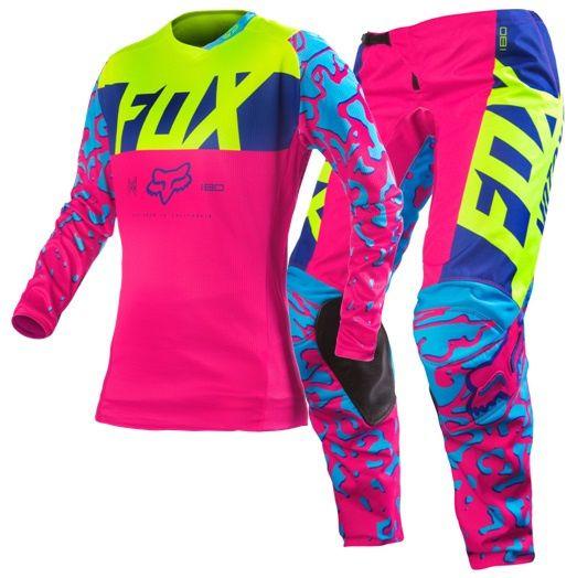face3dfe00f5 FOX MX Gear 2016 - 180 Women s Outfit - Pink   Moto et VTT   Gears ...