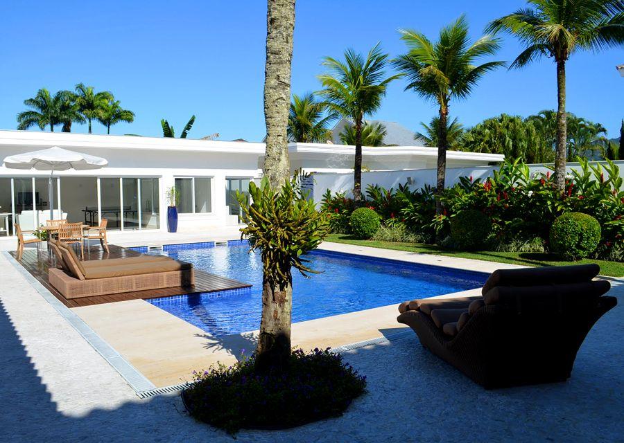 casa 591 piscina e jardim casa dos sonhos pinterest