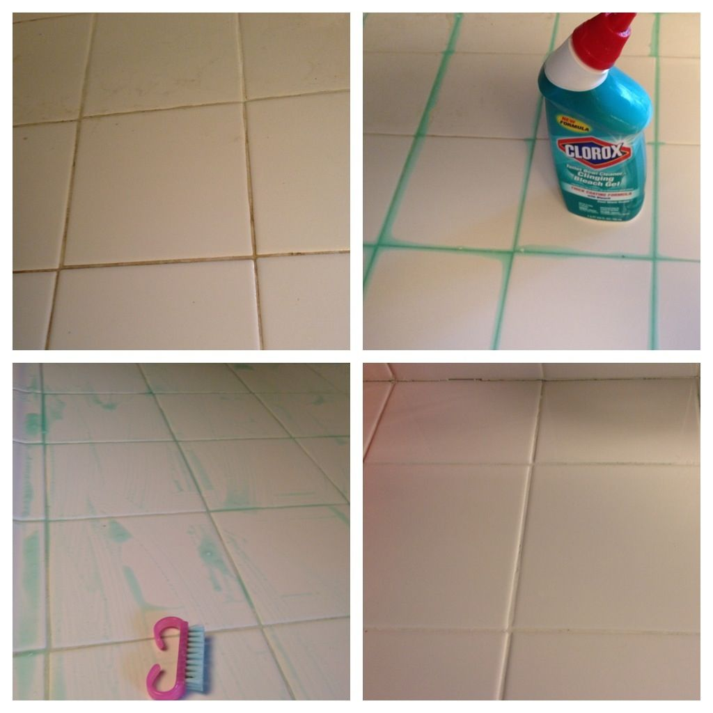 White Grout In The Kitchen? Easiest Way To Clean Them... With Toilet