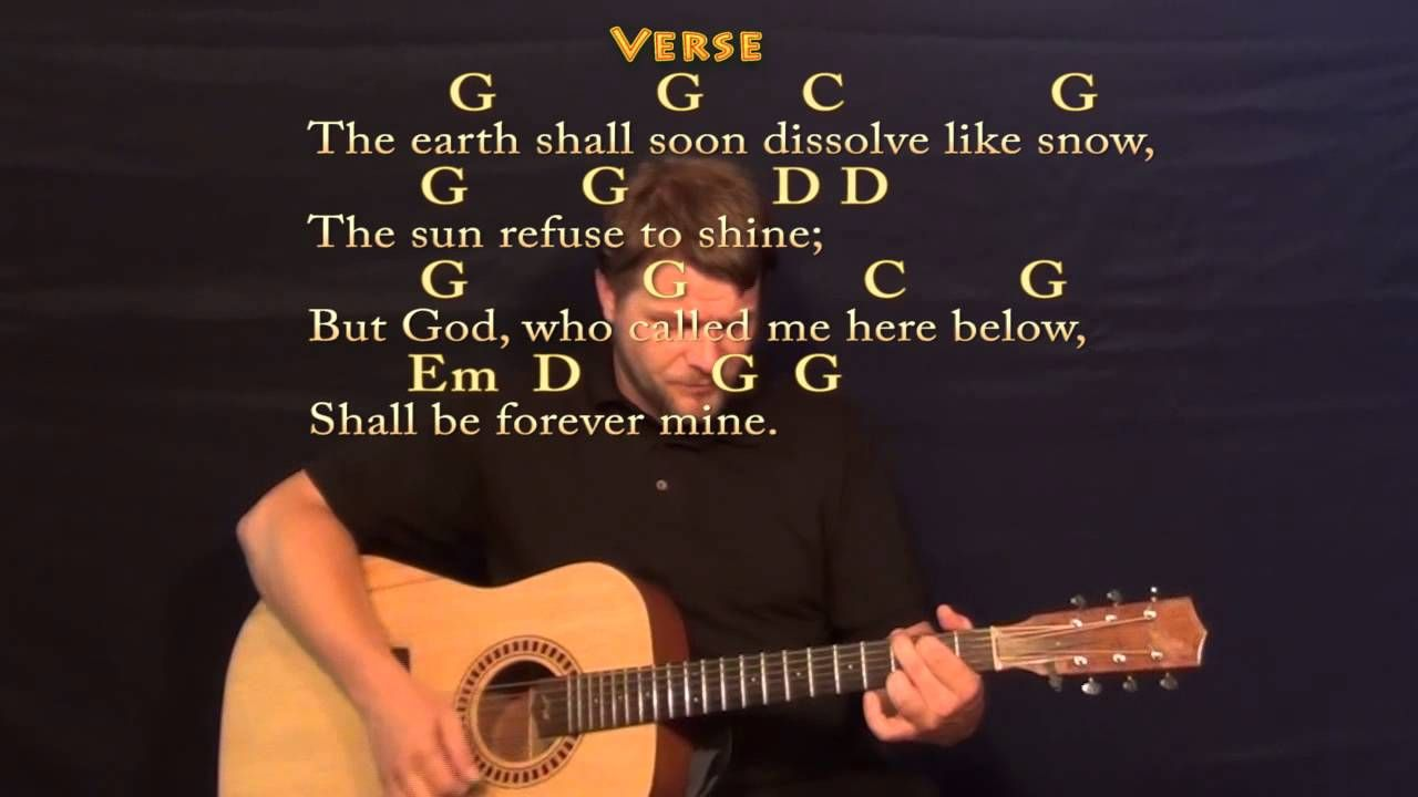 Amazing Grace Strum Guitar Cover Lesson With Chords Lyrics Guitar Tutorials Songs Learn Acoustic Guitar Music Theory Guitar