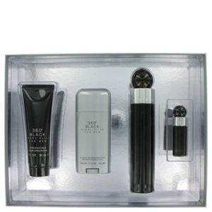 Perry Ellis 360 Black By Perry Ellis Gift Set  3.4 Oz Eau De Toilette Spray  3 Oz After Shave Balm  2.75 Oz Deodorant Stick  .25 Oz Mini Edt Spray http://bit.ly/1OjcPRq #giftsforhim