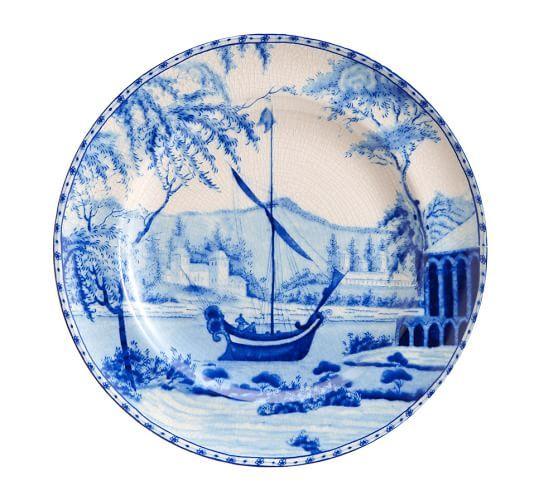 Sophia Village Salad Plate, Set of 4 | Pottery Barn