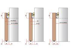 Sistema invisibile brevettato per porte scorrevoli esterno ...