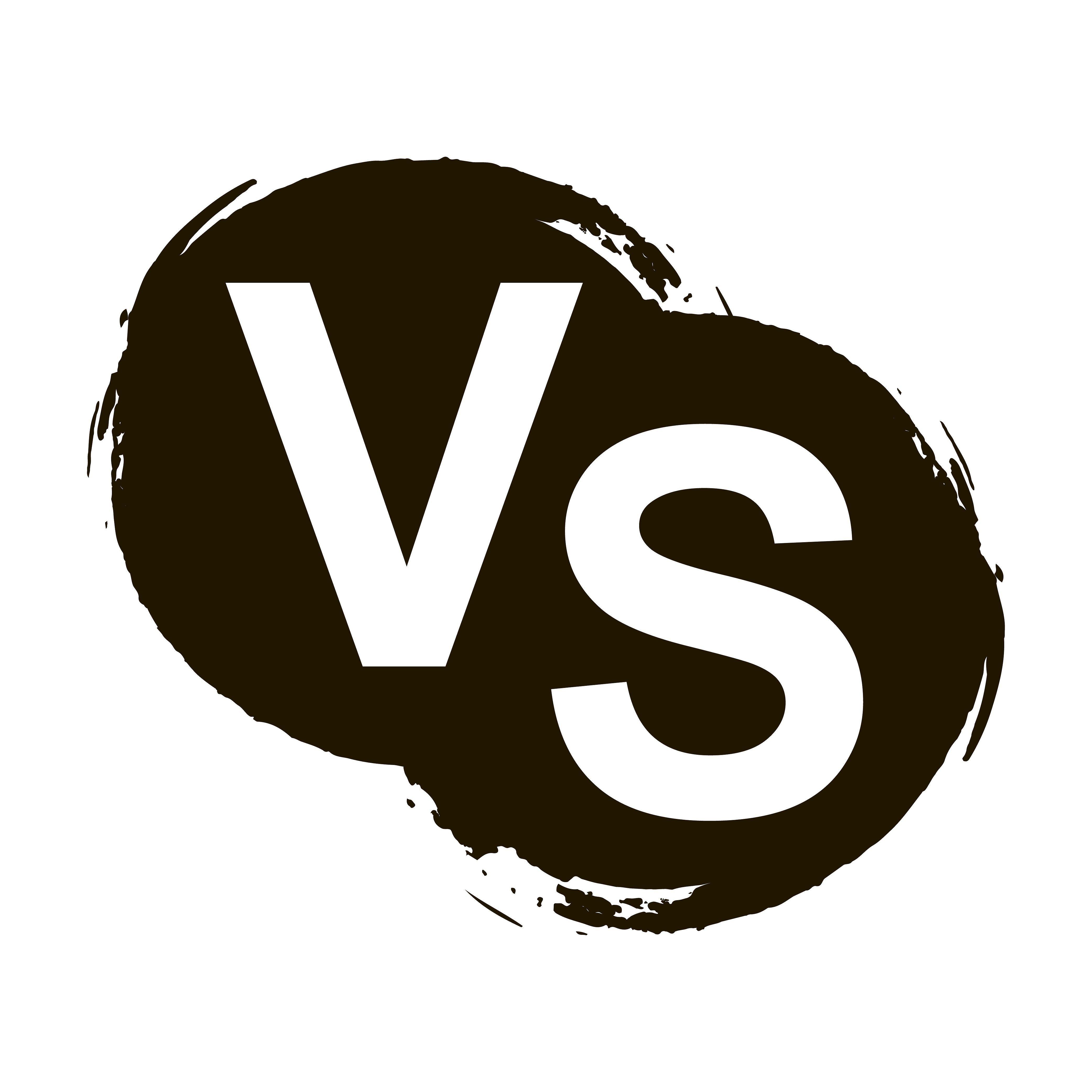 Versus letters or vs logo by vivat on creativemarket