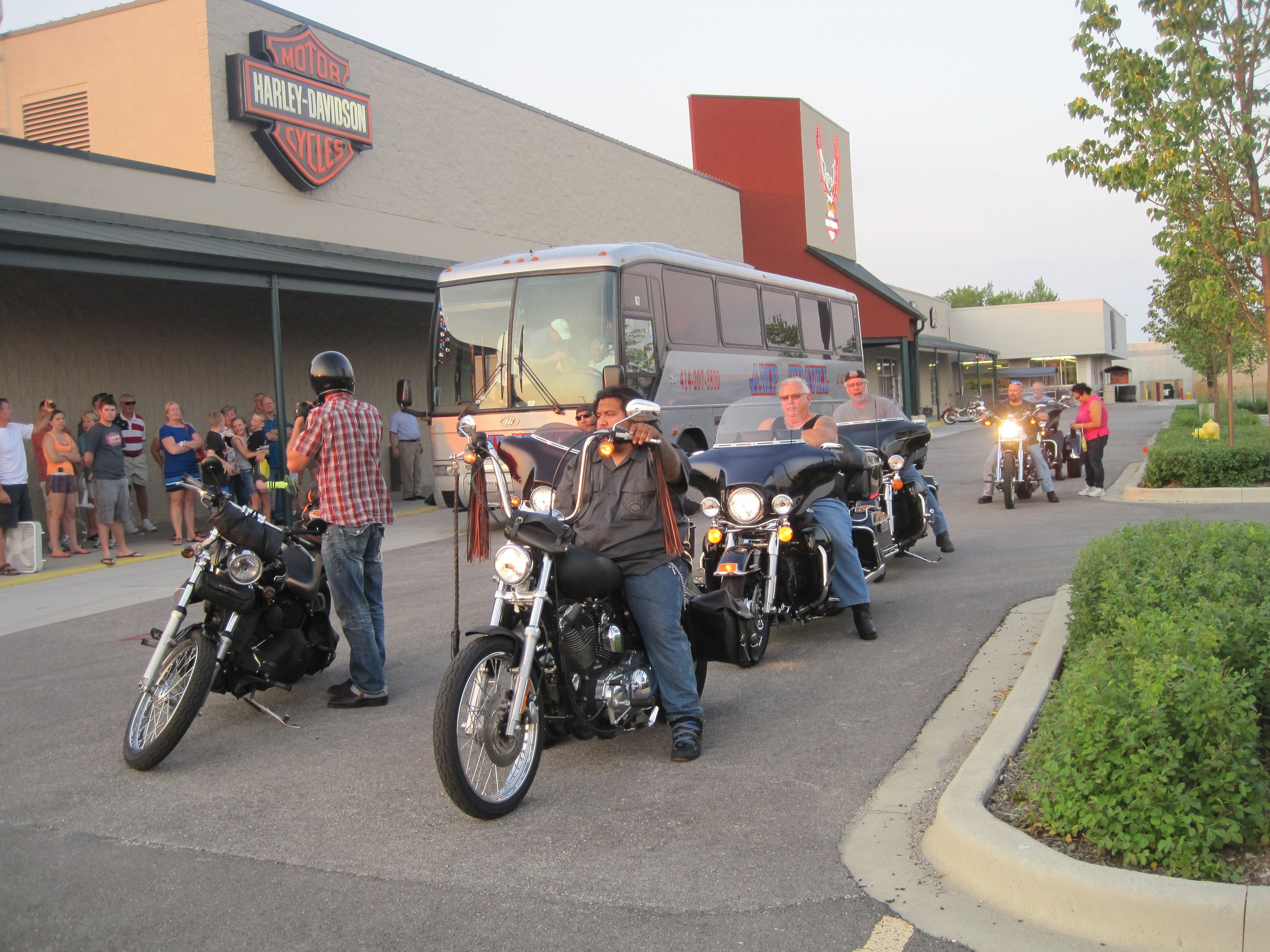 Bike blessing send of at Illinois Harley-Davidson. | things i ...