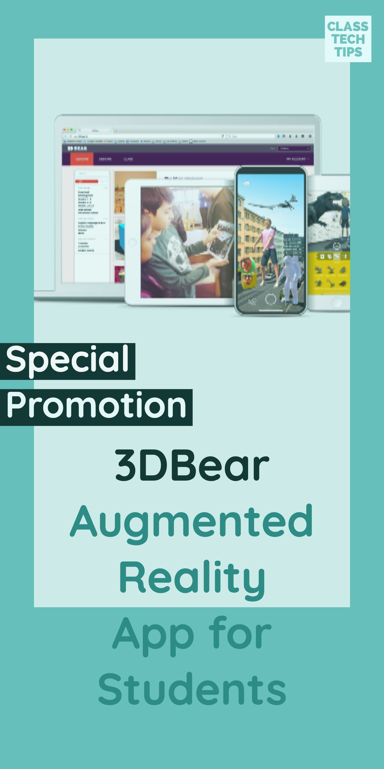 Special ISTE19 Promotion from 3DBear Augmented Reality