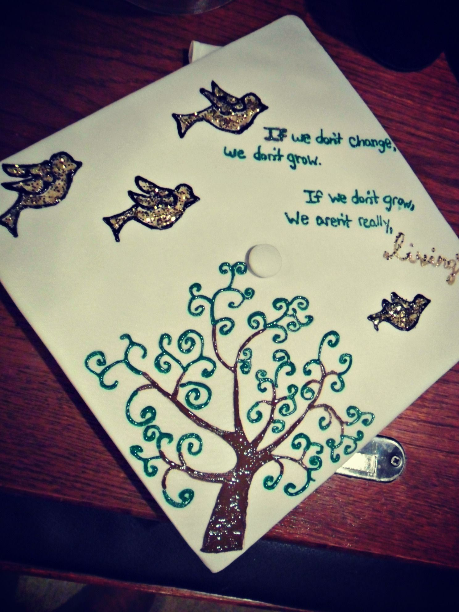 Use Preschool Graduation Cap For High School Graduation Decoration