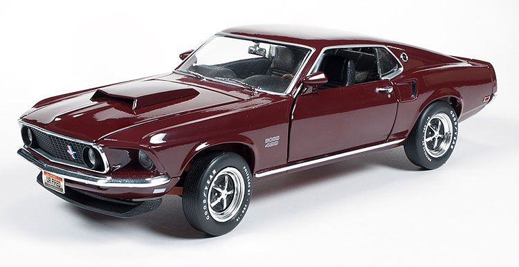 1969 Mustang Boss 429 Diecast Scale Model By American Muscle
