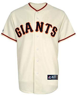 b822663b7 Majestic MLB Youth San Francisco Giants Home Replica Baseball Jersey  (Ivory, Medium): Amazon.co.uk: Sports & Outdoors