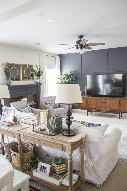 Gallery of Transitional Family Room - Fabulous Homes ...