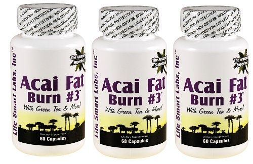 ACAI Fat Burn #3 all Pure Diet Pill with Green Tea, Grapefruit, Apple Cider, and more for Weight Loss and fat burner $35.00 fitness-and-losing-weight