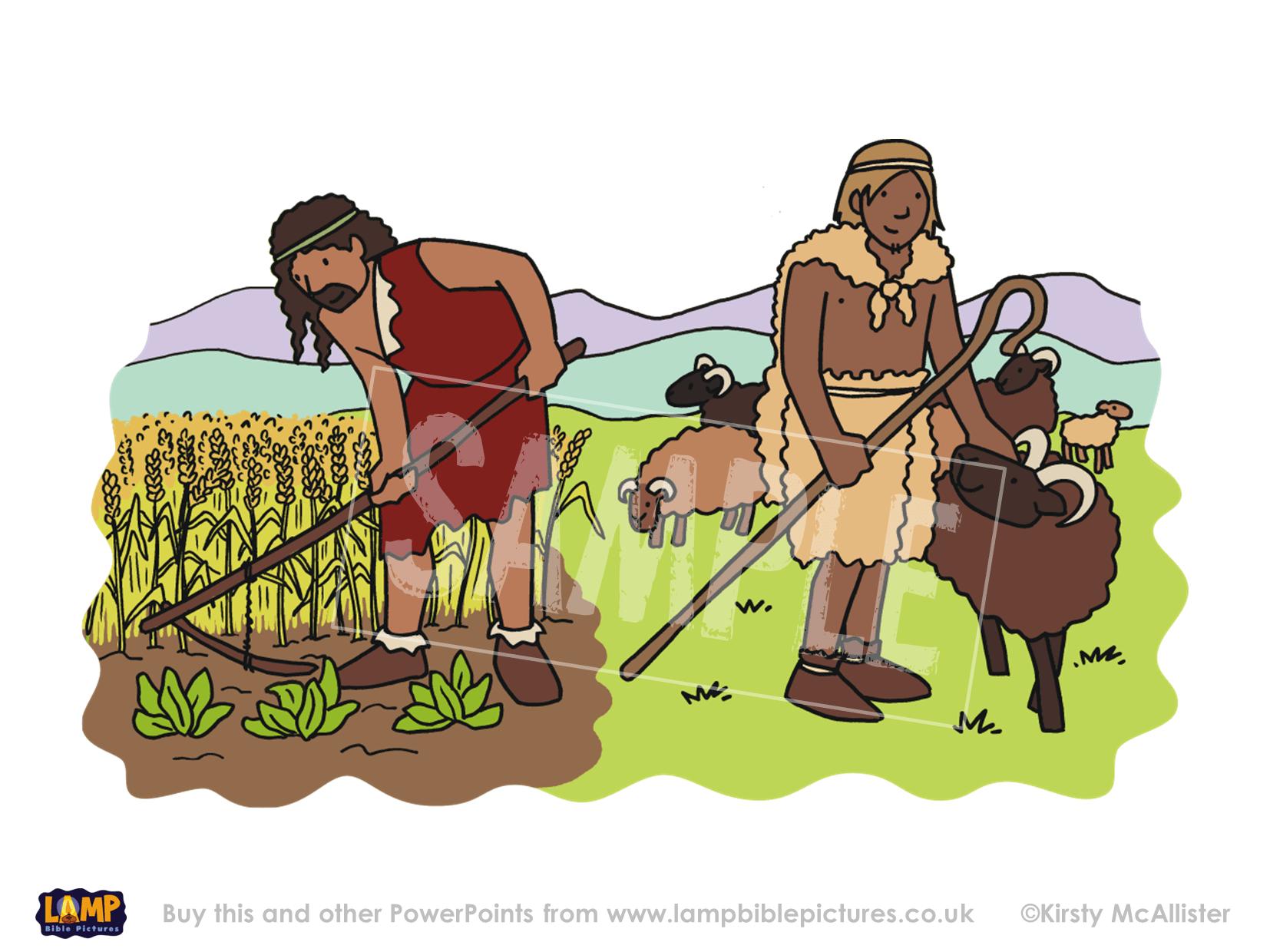 Cain The Farmer Abel The Shepherd