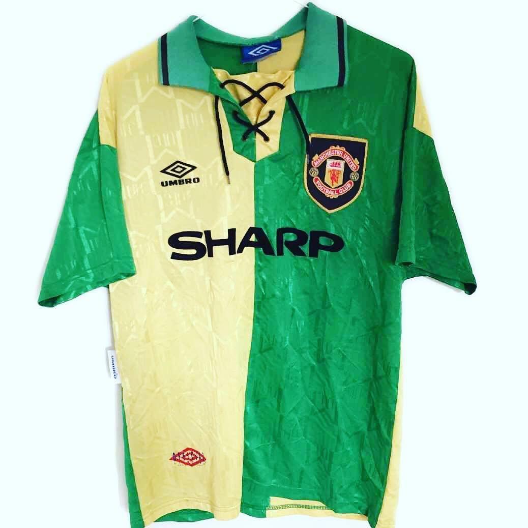 10d5b8684f4 1992-94 Manchester United (Newton Heath) M Link in bio