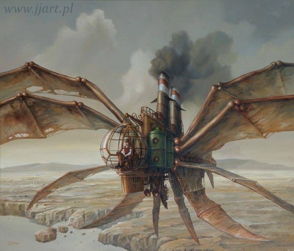 Art Surrealism -Jaroslaw Jasnikowsi - X-Wing