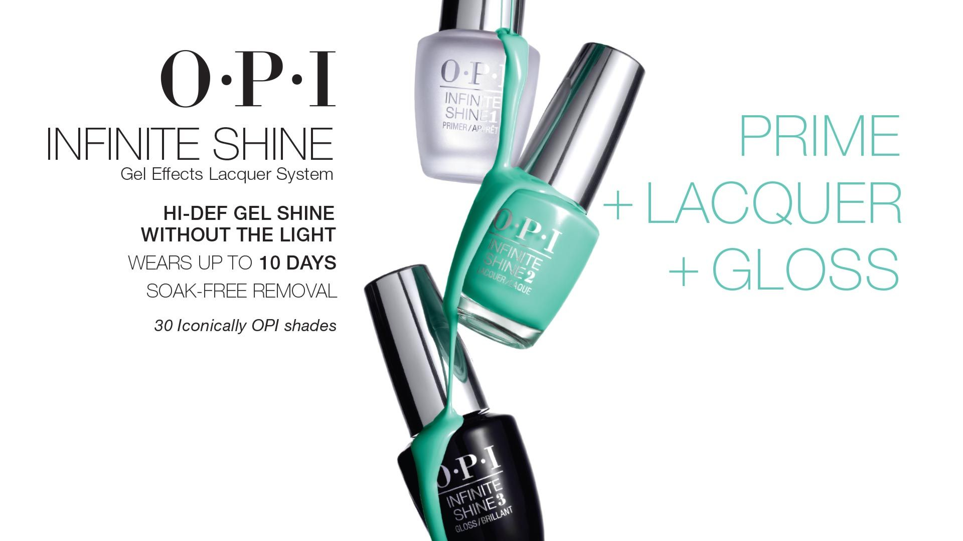 Infinite Shine | OPI Amazing product! As a hair designer it\'s ...