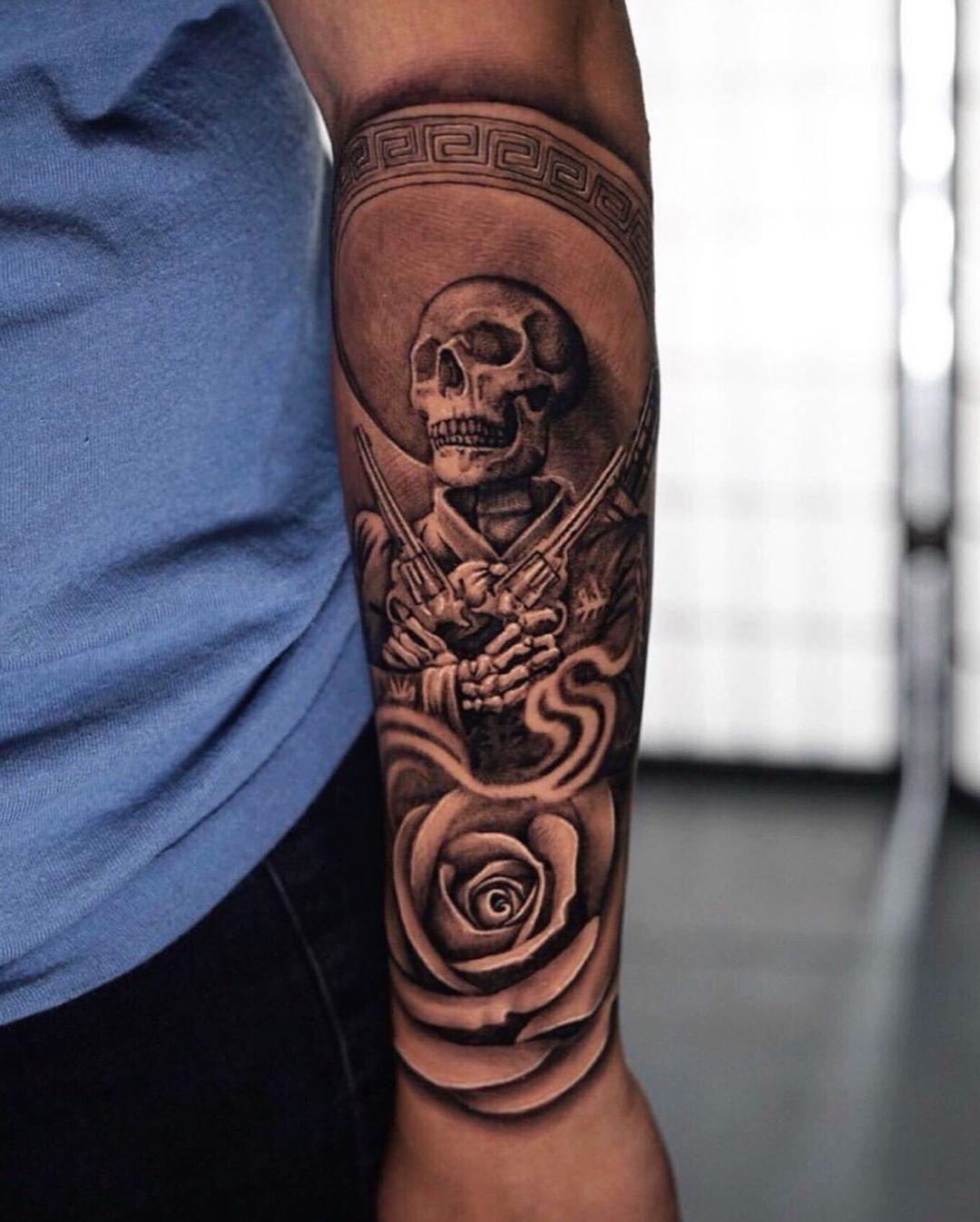 Tattoos Aztec Tattoo Aztec Tattoos Sleeve Chicano Tattoos Sleeve