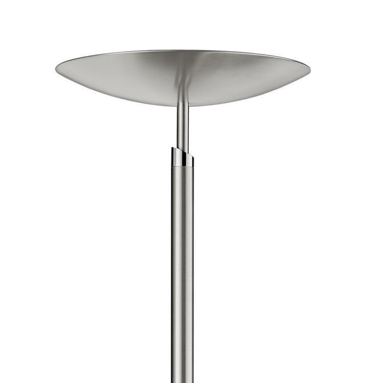 GKS Knapstein Hochwertiger LED-Deckenfluter - Nickel matt - mit ...
