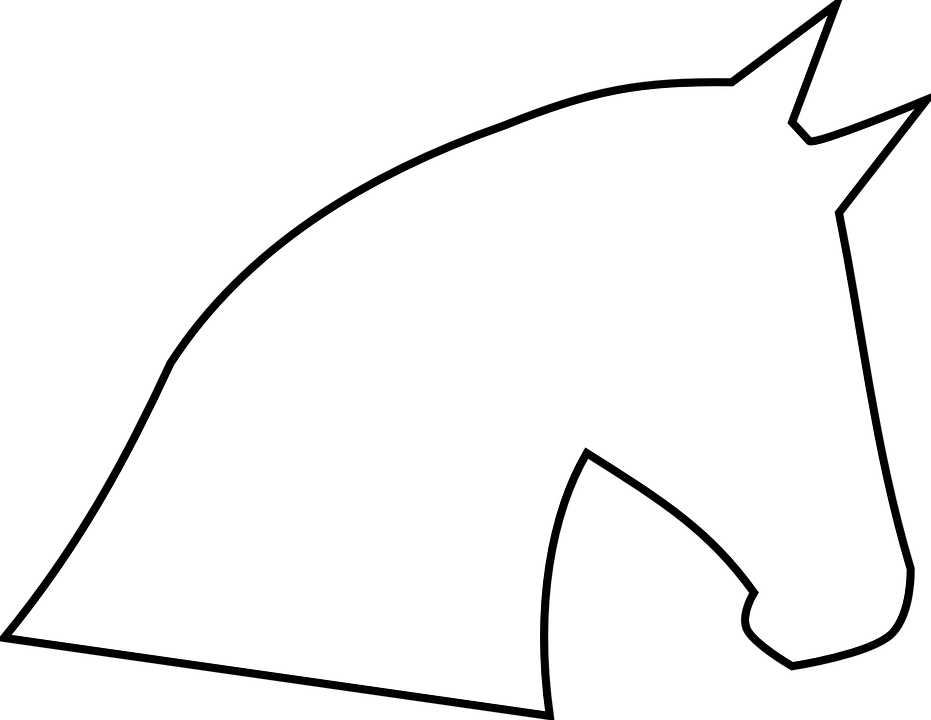 Free Image on Pixabay Horse Head, Horse, Head, Outline