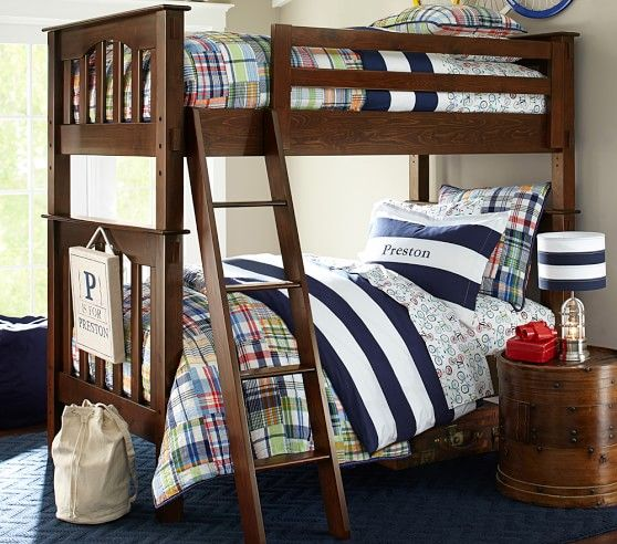 Best Kendall Twin Over Twin Bunk Bed Boy Bedroom Design Bunk 400 x 300
