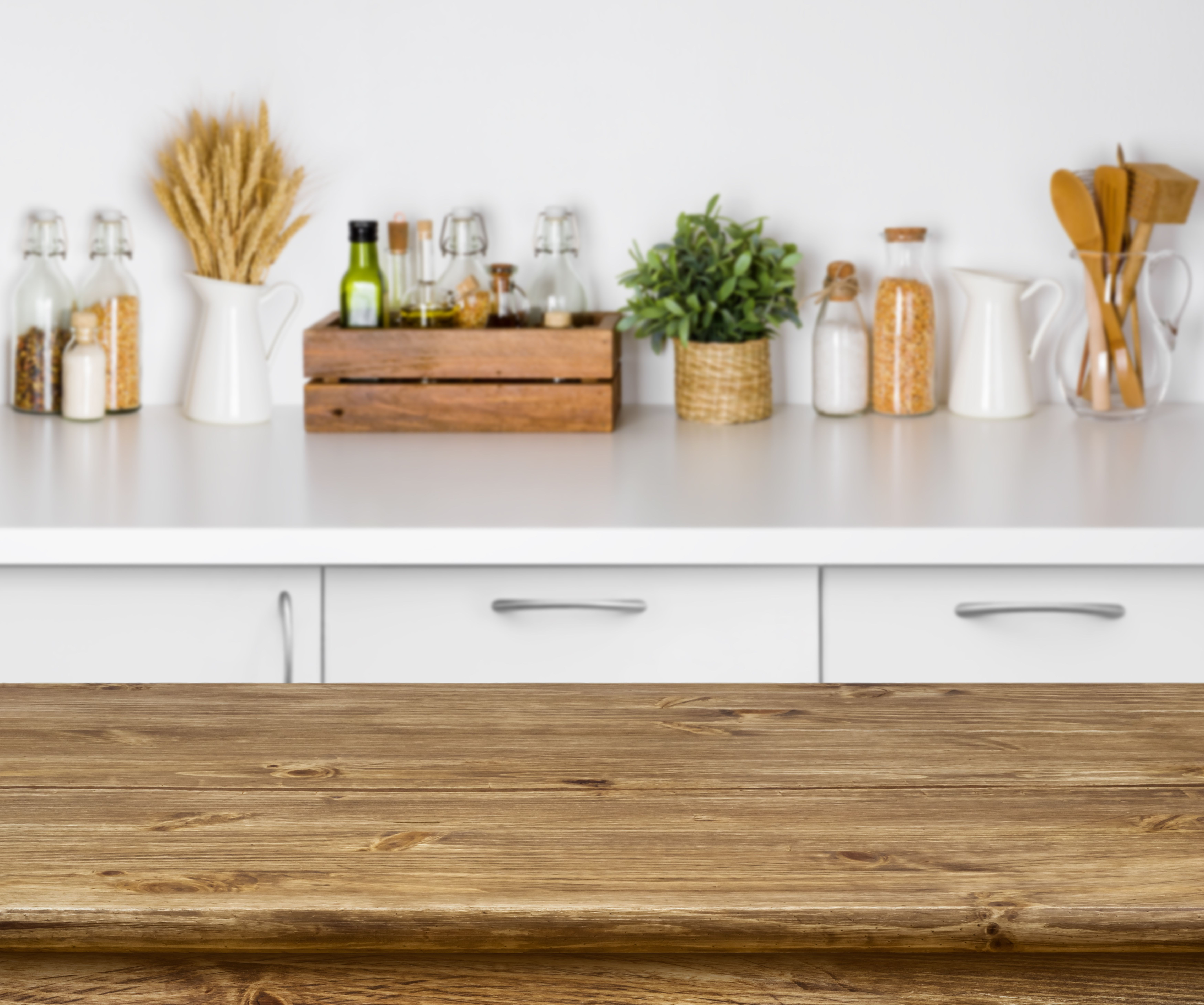 9 Ways to Decorate With Everyday Objects   Kitchen background ...