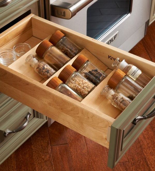 35 Functional Kitchen Cabinet With Drawer Storage Ideas | Home Design And  Interior