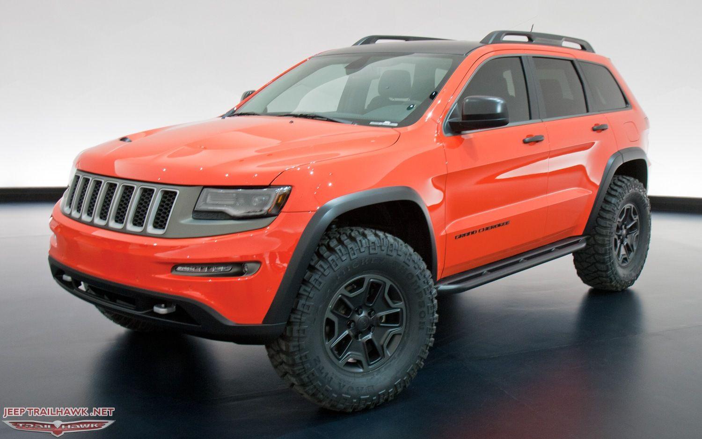 Jeep Grand Cherokee Trailhawk Ii Jeep Grand Jeep Concept Grand