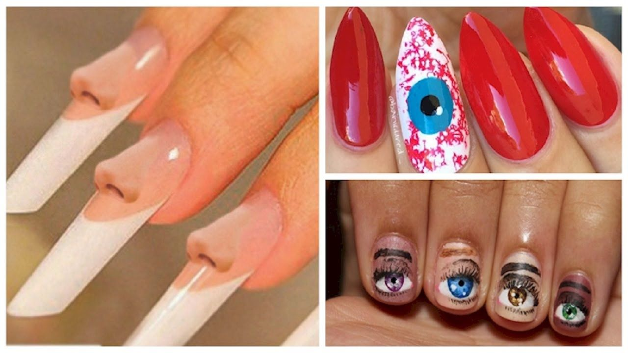 Nail Art Designs Gallery For Short Nails   AMAZING WALLPAPERS ...