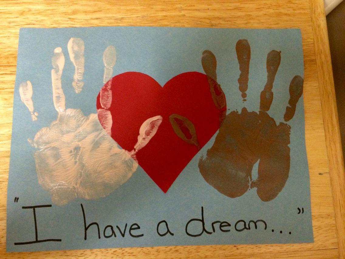Martin Luther King Jr Handprint Craft