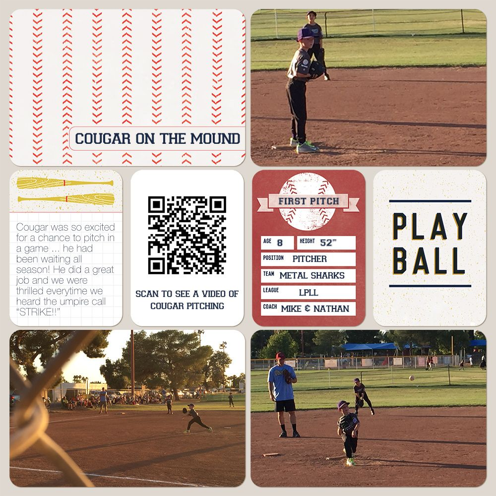 How to scrapbook pages - Adding Qr Codes To Your Scrapbook Pages