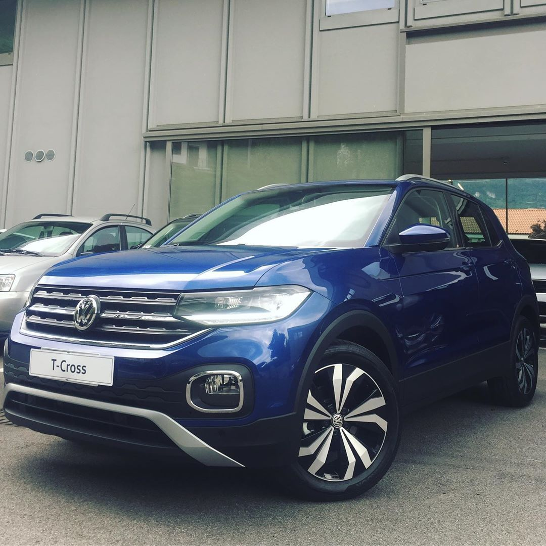 T Cross Style Reef Blue Volkswagen Tcross Style Reefblue Blue Blu Suv Vwtcross Morethan1thing Autocogliati Lecco Garlate Blue Lecco Suv
