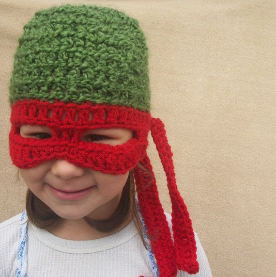 Teenage Mutant Ninja Turtle Hat, TMNT, Children Costume Gift. $30.00 ...