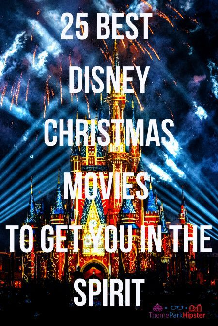 25 best Disney Christmas movies to get you in the holiday spirit. Click image to see what are the BEST Disney Christmas and Holiday Movies this year! #DisneyMovies #WaltDisneyWorld #Christmas #DisneyChristmas