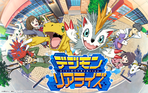 Download DIGIMON ReArise APK 2.5.0 for Android Digimon