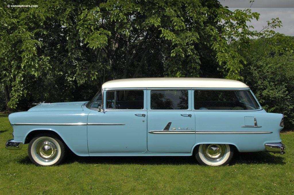 1955 Chevrolet Bel Air Station Wagon Chevy Bel Air Wagon Old American Cars Station Wagon Cars