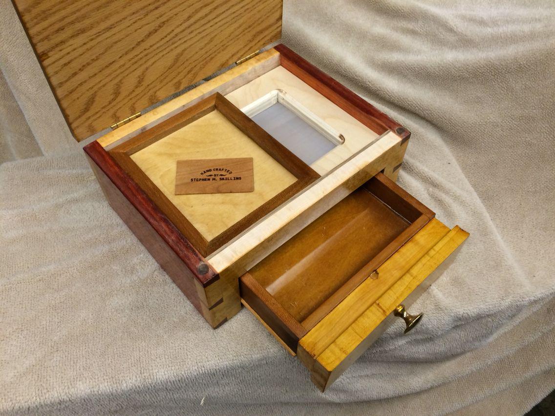 Kief Box Kief Box Pollen Box Box Tray Woodworking Plans