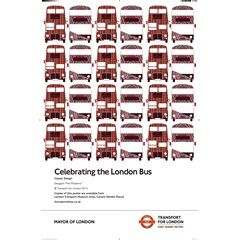 Year of the Bus: Classic Design 2014 Poster | London Transport Museum Shop